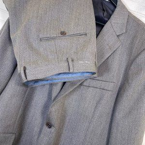 Hickey Freeman Milburn II 100% Wool 2pc. Suit